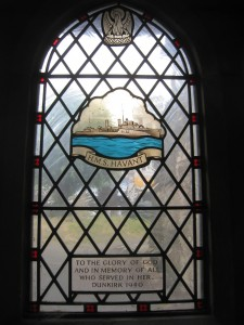 HMS HAVANT Window