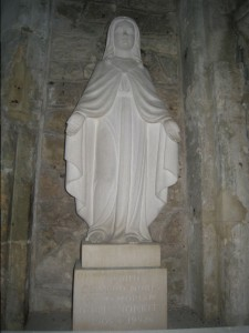 Statue of St. Faith of Aquitaine