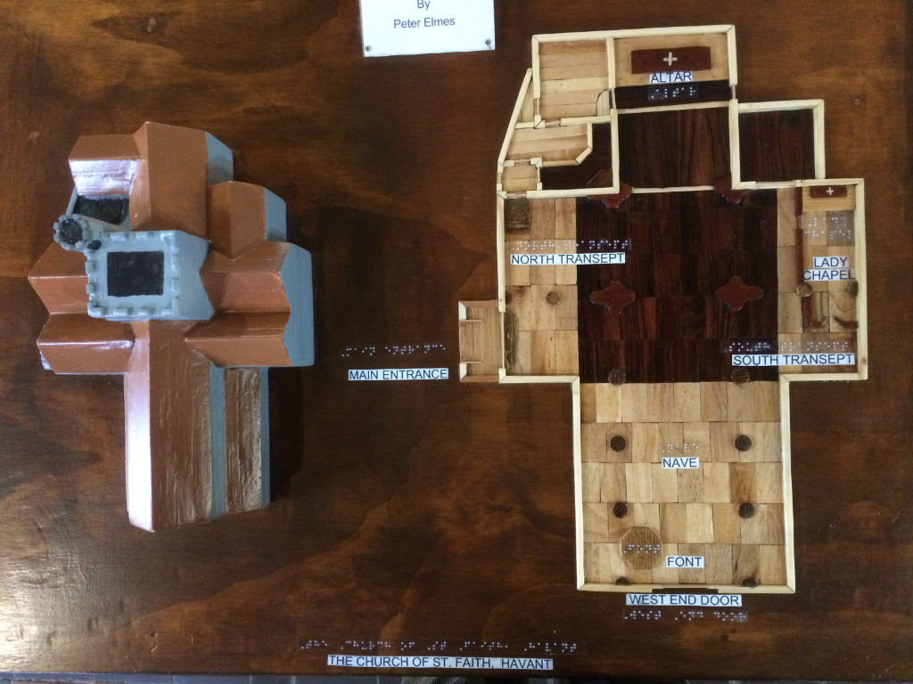 church-layout model