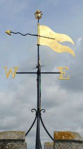 church-weathervane