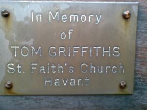 Church Hall Gate Plaque
